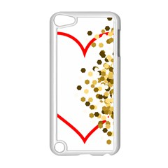 Heart Transparent Background Love Apple Ipod Touch 5 Case (white) by Nexatart