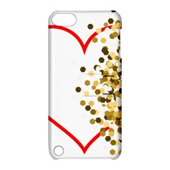 Heart Transparent Background Love Apple Ipod Touch 5 Hardshell Case With Stand by Nexatart