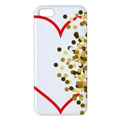 Heart Transparent Background Love Apple Iphone 5 Premium Hardshell Case by Nexatart