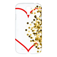 Heart Transparent Background Love Samsung Galaxy S4 I9500/i9505 Hardshell Case