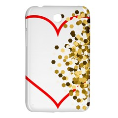 Heart Transparent Background Love Samsung Galaxy Tab 3 (7 ) P3200 Hardshell Case  by Nexatart