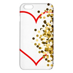 Heart Transparent Background Love Iphone 6 Plus/6s Plus Tpu Case