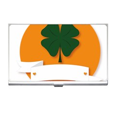 St Patricks Day Ireland Clover Business Card Holders