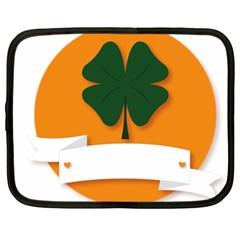 St Patricks Day Ireland Clover Netbook Case (xxl)