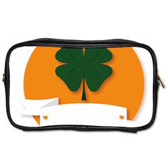 St Patricks Day Ireland Clover Toiletries Bags 2 Side