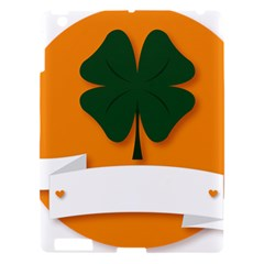St Patricks Day Ireland Clover Apple Ipad 3/4 Hardshell Case