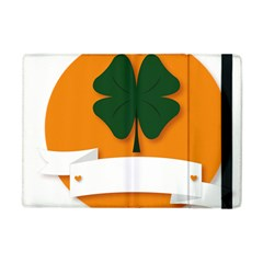 St Patricks Day Ireland Clover Apple Ipad Mini Flip Case