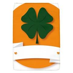 St Patricks Day Ireland Clover Flap Covers (s)  by Nexatart