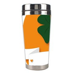 St Patricks Day Ireland Clover Stainless Steel Travel Tumblers