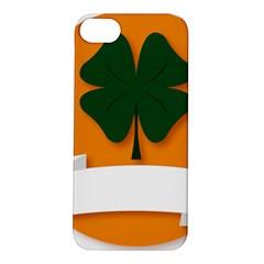St Patricks Day Ireland Clover Apple Iphone 5s/ Se Hardshell Case