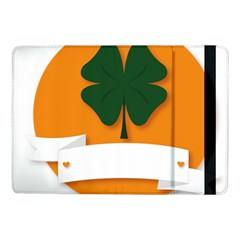 St Patricks Day Ireland Clover Samsung Galaxy Tab Pro 10 1  Flip Case