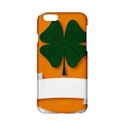 St Patricks Day Ireland Clover Apple Iphone 6/6s Hardshell Case by Nexatart