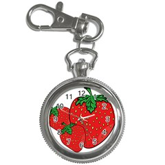 Strawberry Holidays Fragaria Vesca Key Chain Watches by Nexatart