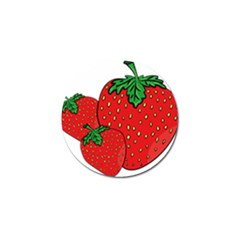 Strawberry Holidays Fragaria Vesca Golf Ball Marker (4 Pack) by Nexatart