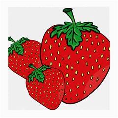 Strawberry Holidays Fragaria Vesca Medium Glasses Cloth (2 Side)