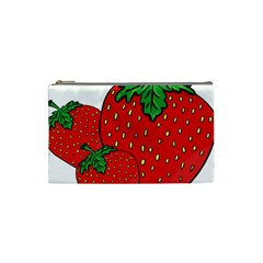 Strawberry Holidays Fragaria Vesca Cosmetic Bag (small)  by Nexatart