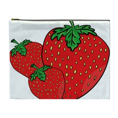 Strawberry Holidays Fragaria Vesca Cosmetic Bag (xl)