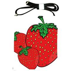 Strawberry Holidays Fragaria Vesca Shoulder Sling Bags by Nexatart