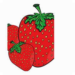 Strawberry Holidays Fragaria Vesca Small Garden Flag (two Sides) by Nexatart