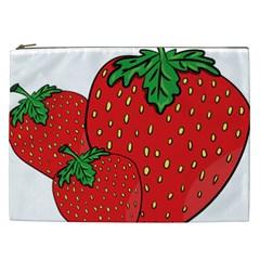 Strawberry Holidays Fragaria Vesca Cosmetic Bag (xxl)