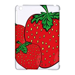 Strawberry Holidays Fragaria Vesca Apple Ipad Mini Hardshell Case (compatible With Smart Cover) by Nexatart