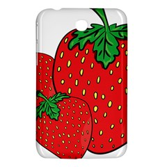 Strawberry Holidays Fragaria Vesca Samsung Galaxy Tab 3 (7 ) P3200 Hardshell Case  by Nexatart