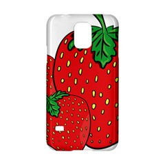 Strawberry Holidays Fragaria Vesca Samsung Galaxy S5 Hardshell Case  by Nexatart