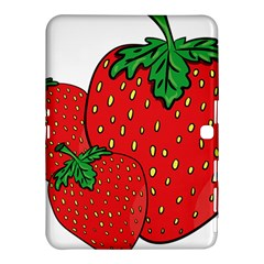 Strawberry Holidays Fragaria Vesca Samsung Galaxy Tab 4 (10 1 ) Hardshell Case