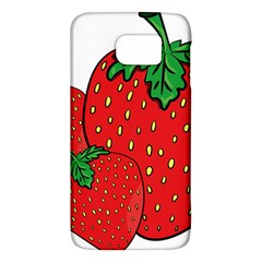 Strawberry Holidays Fragaria Vesca Galaxy S6 by Nexatart