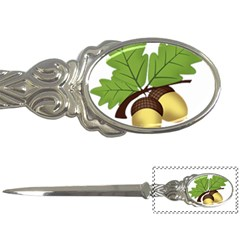 Acorn Hazelnuts Nature Forest Letter Openers by Nexatart