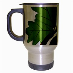 Acorn Hazelnuts Nature Forest Travel Mug (silver Gray)