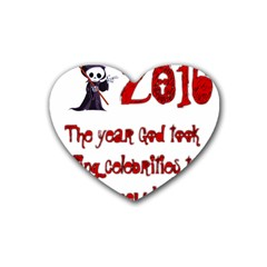 2016    Heart Coaster (4 Pack)  by badwolf1988store