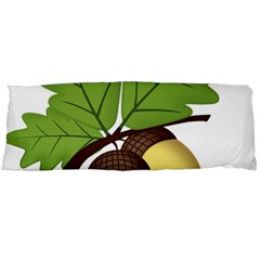 Acorn Hazelnuts Nature Forest Body Pillow Case Dakimakura (two Sides)