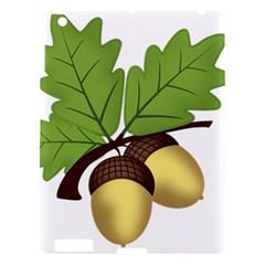 Acorn Hazelnuts Nature Forest Apple Ipad 3/4 Hardshell Case