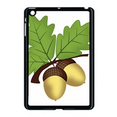 Acorn Hazelnuts Nature Forest Apple Ipad Mini Case (black)