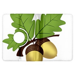 Acorn Hazelnuts Nature Forest Kindle Fire Hdx Flip 360 Case by Nexatart