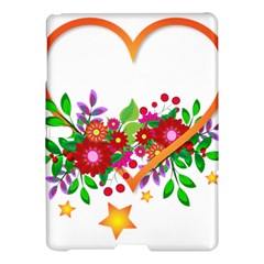 Heart Flowers Sign Samsung Galaxy Tab S (10 5 ) Hardshell Case