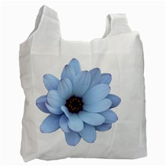 Daisy Flower Floral Plant Summer Recycle Bag (one Side) by Nexatart