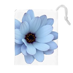 Daisy Flower Floral Plant Summer Drawstring Pouches (extra Large)