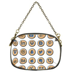 Social Media Icon Icons Social Chain Purses (one Side)