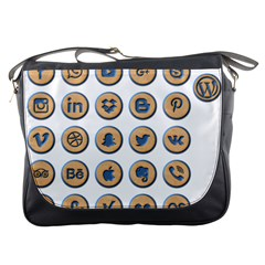 Social Media Icon Icons Social Messenger Bags