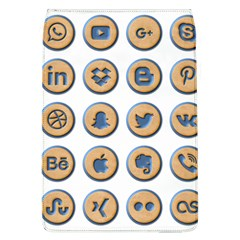Social Media Icon Icons Social Flap Covers (l)