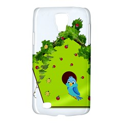 Bluebird Bird Birdhouse Avian Galaxy S4 Active by Nexatart