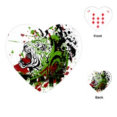 Do It Sport Crossfit Fitness Playing Cards (heart)  by Nexatart
