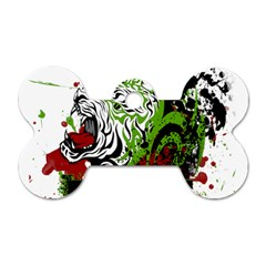 Do It Sport Crossfit Fitness Dog Tag Bone (two Sides) by Nexatart