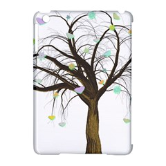 Tree Fantasy Magic Hearts Flowers Apple Ipad Mini Hardshell Case (compatible With Smart Cover) by Nexatart