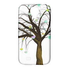 Tree Fantasy Magic Hearts Flowers Samsung Galaxy S4 Classic Hardshell Case (pc+silicone)