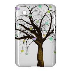 Tree Fantasy Magic Hearts Flowers Samsung Galaxy Tab 2 (7 ) P3100 Hardshell Case