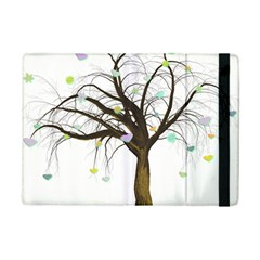 Tree Fantasy Magic Hearts Flowers Ipad Mini 2 Flip Cases