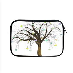 Tree Fantasy Magic Hearts Flowers Apple Macbook Pro 15  Zipper Case